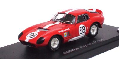 KYOSHO 1/43scale SHELBY COBRA DAYTONA COUPE 1965 LE MANS Red / No.59 [No.K03051F]