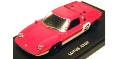 KYOSHO 1/43scale LOTUS 47GT Red [No.K03072R]