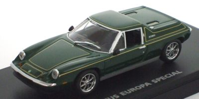 KYOSHO 1/43scale Lotus Europa Special Green /Gold Stripe [No.K03075G]