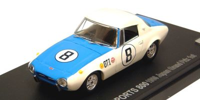 KYOSHO 1/43scale TOYOTA  SPORTS  800  RACING  1966 JAPAN  GP  Win No.8 [No.K03092E]