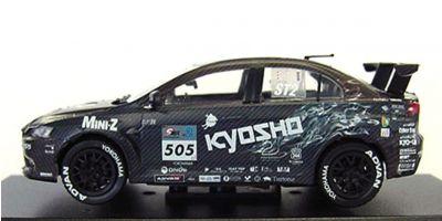 KYOSHO 1/43scale KYOSHO ALICE MOTORS LANCER X TEST TEST [No.K03495T]