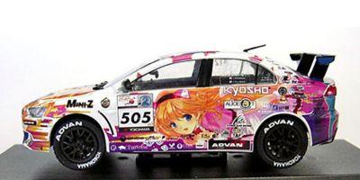 KYOSHO 1/43scale KYOSHO ALICE MOTORS LANCER X 2011 2011 [No.K03495XI]