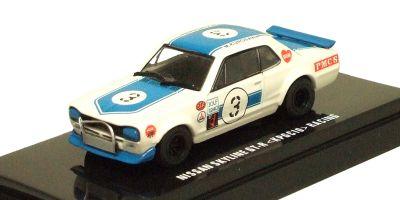 KYOSHO 1/64scale Nissan SkylineGT-R (KPGC10) Racing No.3 Blue [No.K06022D]