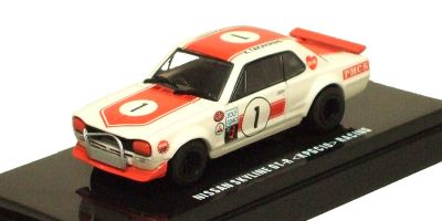 KYOSHO 1/64scale Nissan SkylineGT-R (KPGC10) Racing No.1 Red [No.K06022F]