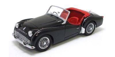 KYOSHO 1/18scale Triumph TR3A Black [No.K08032BK]