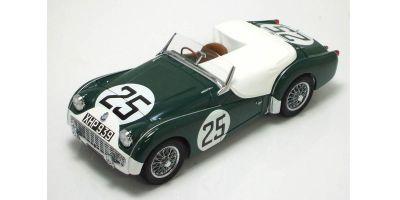 KYOSHO 1/18scale TRIUMPH TR3S 1959 LM (No.25) GREEN / WHITE [No.K08033A]