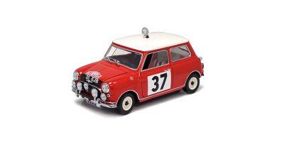 KYOSHO 1/18scale Mini Cooper S 1964 Monte CarloRally Winner (No.37)  [No.K08102A]