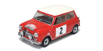 KYOSHO 1/18scale MINI COOPER S Rally Monte Carlo 1966 No.2  [No.K08102C]