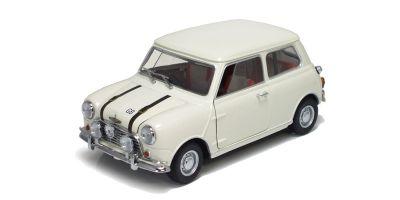 KYOSHO 1/18scale AUSTIN MINI COOPER S 1969 White [No.K08106W]