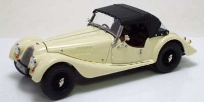 KYOSHO 1/18scale Morgan 4/4 Sport Ivory white [No.K08115W]
