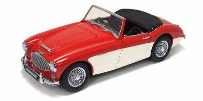 KYOSHO 1/18scale Austin Healey 3000 MK-1 Red/White [No.K08141RW]