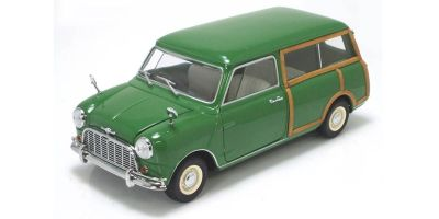 KYOSHO 1/18scale Morris Mini Traveller Green [No.K08195G]