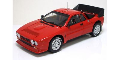 KYOSHO scale Lancia 037 Rally Red [No.K08304R]