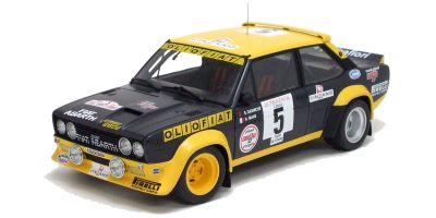 KYOSHO 1/18scale Fiat 131 No.5 1977 Tour De Corse  [No.K08372A]