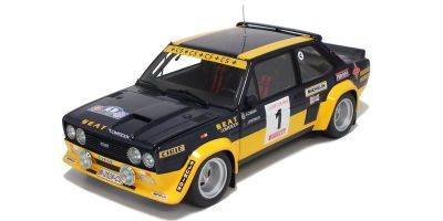 KYOSHO 1/18scale Fiat 131 Abarth Rally 1979 RALLY COSTA BRAVA  [No.K08372D]