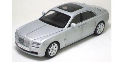KYOSHO 1/18scale Rolls-Royce Ghost 2010 Silver [No.K08801SS]