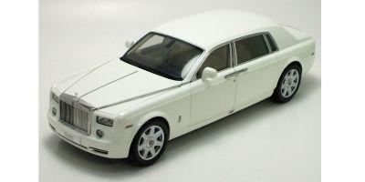 KYOSHO 1/18scale Rolls-Royce Phantom Extended Wheelbase English White [No.K08841EW]