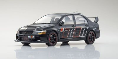 Super A 1/18scale Mitsubishi Lancer Evolution IX RALLIART(Black)  [No.KAB2001]