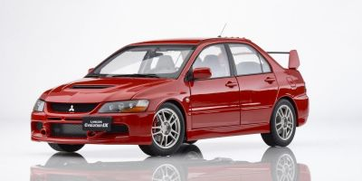 Super A 1/18scale Mitsubishi Lancer Evolution IX (Red)  [No.KAC11113]