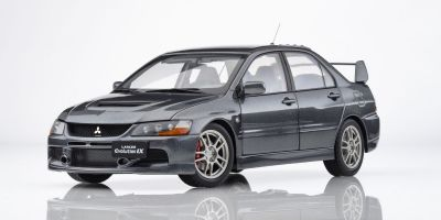 Super A 1/18scale Mitsubishi Lancer Evolution IX (Metallic Gray)  [No.KAC11114]