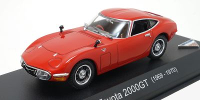 KYOSHO 1/43scale TOYOTA 2000GT Red [No.KS03039R]