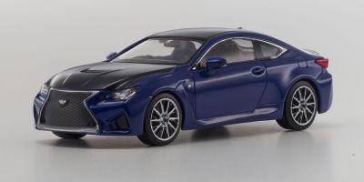 KYOSHO 1/43scale Lexus RC F Heat Blue [No.KS03653BL]