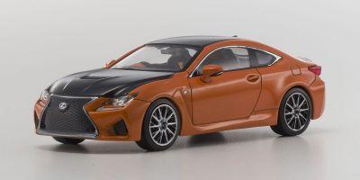 KYOSHO 1/43scale Lexus RC F Orange Crystal Shine [No.KS03653P]