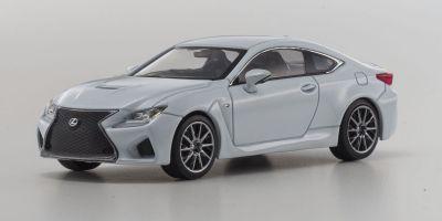 KYOSHO 1/43scale Lexus RC F White Nova Glass Flake [No.KS03653W]