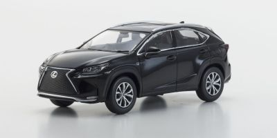 KYOSHO 1/43scale Lexus NX200t F SPORTS Black [No.KS03654BK]