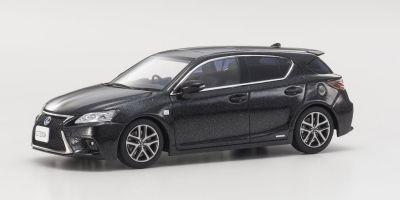 KYOSHO 1/43scale Lexus CT200h F Sport BK/Graphite Black GF.  [No.KS03656BK2]