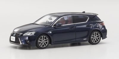 KYOSHO 1/43scale Lexus CT200h F Sport BK/Deep Blue Mica  [No.KS03656BL2]