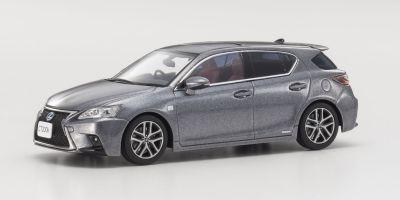 KYOSHO 1/43scale Lexus CT200h F SPORT M. Gray  [No.KS03656GR2]