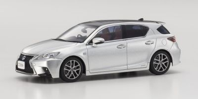KYOSHO 1/43scale Lexus CT200h F SPORT PT. Silver  [No.KS03656PS2]