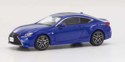 KYOSHO 1/43scale Lexus RC350 F Sport Heat Blue CL  [No.KS03657BL]