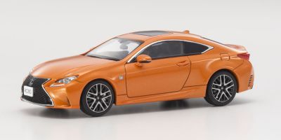 KYOSHO 1/43scale Lexus RC350 F Sport Lava Orange   [No.KS03657P]
