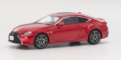 KYOSHO 1/43scale Lexus RC350 F SPORT Red CL  [No.KS03657RR]