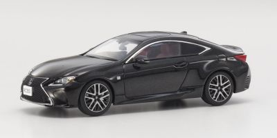 KYOSHO 1/43scale Lexus RC350 F SPORT S. Black  [No.KS03657SBK]