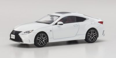 KYOSHO 1/43scale Lexus RC350 F SPORT White Nova  [No.KS03657W]