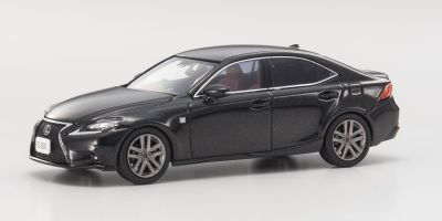 KYOSHO 1/43scale Lexus IS350 F Sport Starlight Black  [No.KS03658SBK]