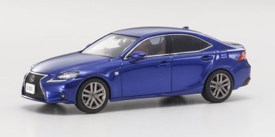 KYOSHO 1/43scale Lexus IS350 F SPORT Exceed Blue  [No.KS03658BL]