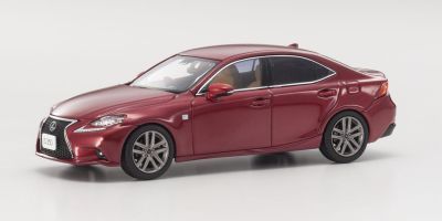 KYOSHO 1/43scale Lexus IS350 F SPORT Red .MC  [No.KS03658RM]