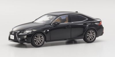 KYOSHO 1/43scale Lexus IS350 F SPORT Black  [No.KS03658BK]