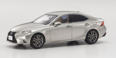 KYOSHO 1/43scale Lexus IS350 F Sport Sonic Titanium  [No.KS03658T]
