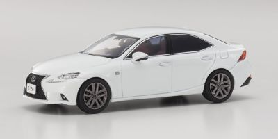 KYOSHO 1/43scale Lexus IS350 F Sport White Nova GF.   [No.KS03658W]