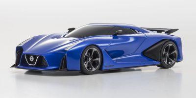 KYOSHO 1/43scale Nissan Concept 2020 Vision Gran Turismo Ink Blue [No.KS03660BL]