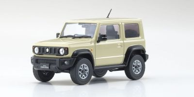 KYOSHO ORIGINAL 1/43scale Suzuki Jimny Sierra (Chiffon Ivory Metallic)  [No.KS03678RHI]