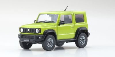 KYOSHO ORIGINAL 1/43scale Suzuki Jimny Sierra (Kinetic Yellow)  [No.KS03678RHY]