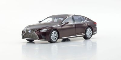 KYOSHO ORIGINAL 1/43scale Lexus LS500h (Sonic Agate / Deep Red)  [No.KS03686SA]