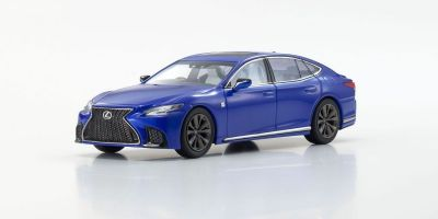 KYOSHO ORIGINAL 1/43scale Lexus LS500 F SPORT (Heat Blue Contrast Layering / Blue)  [No.KS03687BL]