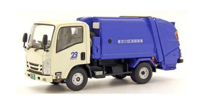KYOSHO ORIGINAL 1/43scale いすゞ エルフ 清掃車 (東京23区)  [No.KS03693T]